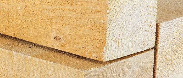 Kantholz und Dachlatten vom Fachhandel